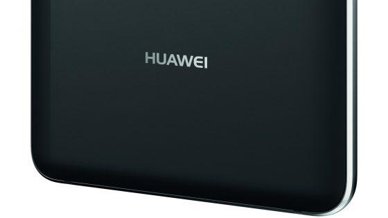 Huawei-Schriftzug auf Smartphone-Rückseite