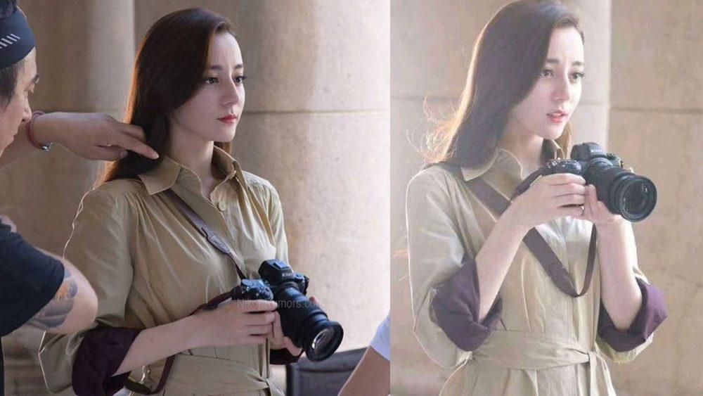 Werbung für Nikon spiegellose Vollformatkamera mit chinesischer Schauspielerin