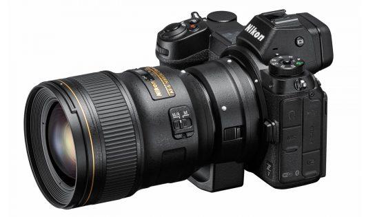 Nikon Z 7 mit Objektiv