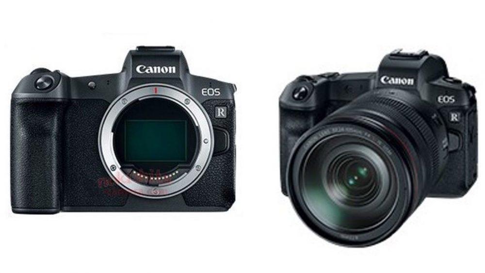 Leak Bilder spiegellose Vollformatkamera Canon