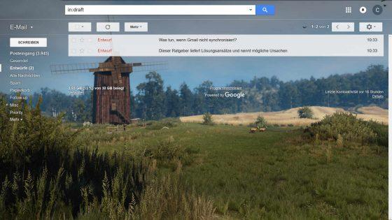 Gmail-Postfach im Browser