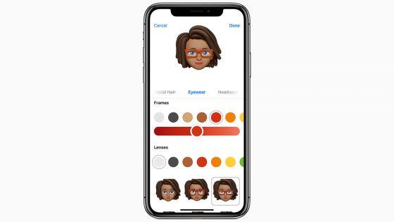 iOS 12 neue Features Memoji
