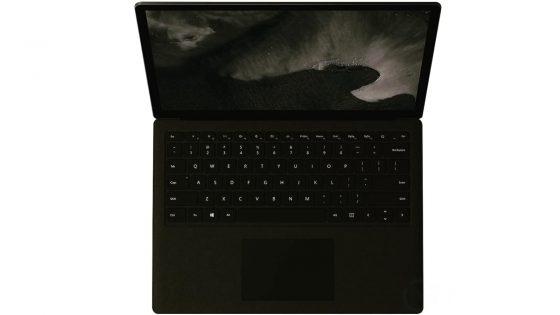 Mutmaßliches Microsoft Surface Laptop 2 Ansicht von oben