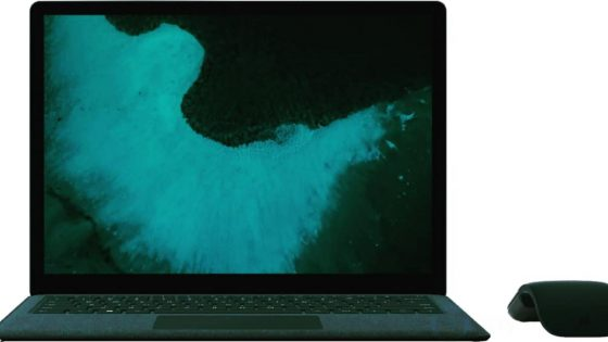 Mutmaßliches Microsoft Surface Laptop 2 Front
