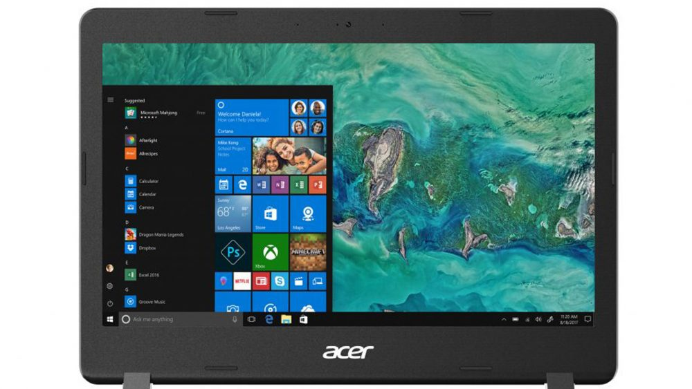 Acer-Laptop mit Windows 10