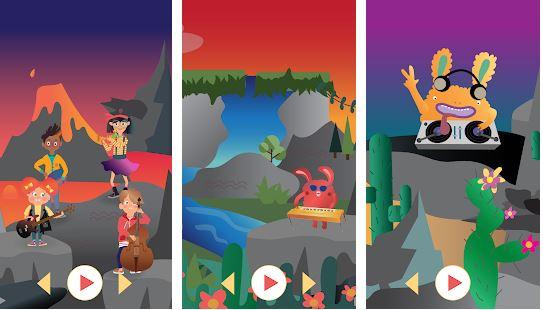 Musik-App Mussila für Kinder