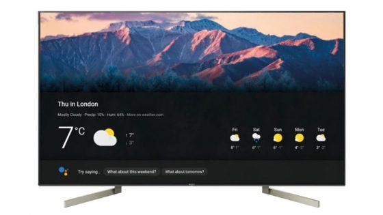 Sony-Smart-TV der Bravia-Reihe