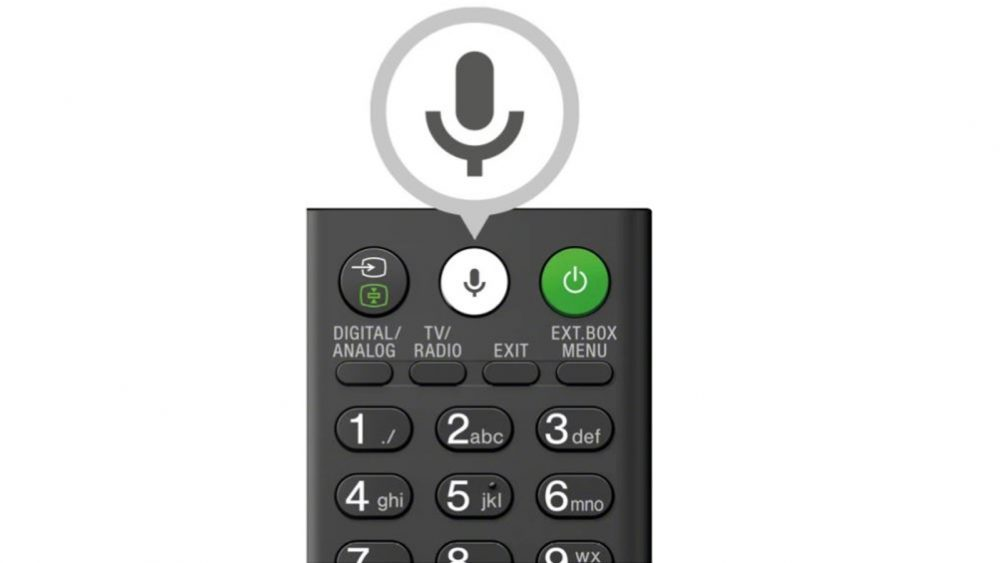 Sony Fernbedienung für Smart TV mit Google Assistant