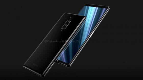 Sony Xperia XZ4 Leak sagt großes Display voraus