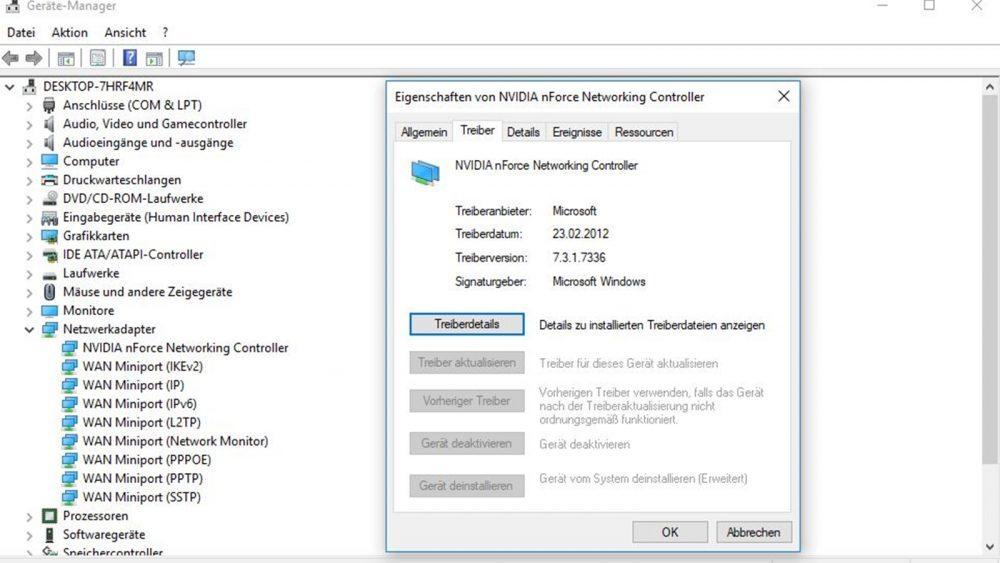 WLAN geht nicht: Treiber aktualisieren bei Windows 10