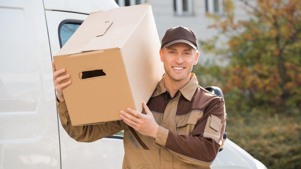 Mit einer smarten IP Türsprechanlage kann der Postbote das Paket an Ihrem Wunschort abstellen, auch wenn Sie nicht zuhause sind