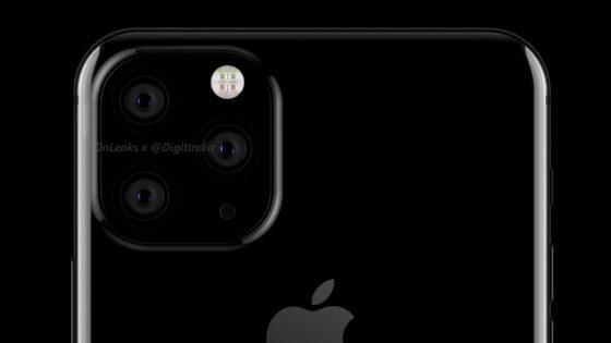 iPhone 2019: Renderbilder mit Triple-Cam