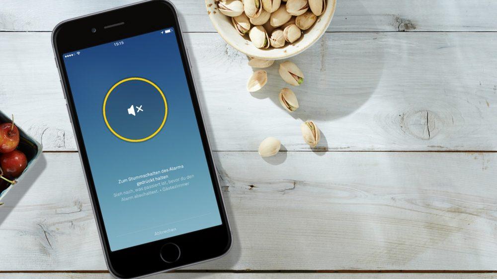 Rauchmelder-Alarm geht auf Smartphone ein
