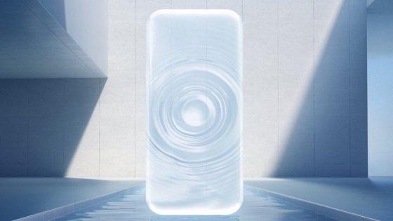 Vivo APEX Teaserbild mit Wassertropfen
