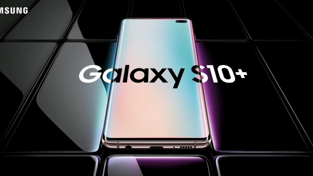 Samsung Galaxy S10+ Vorderseite