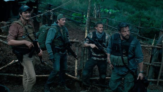 "Szene aus Netflix-Film ""Triple Frontier"""