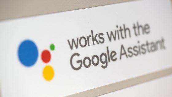 Schriftzug des Google Assistant