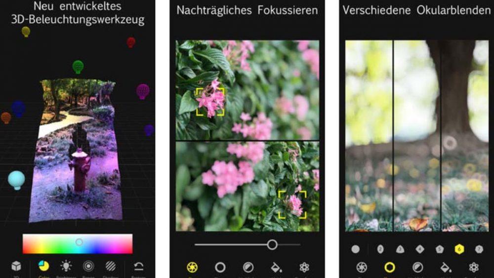 App Focos sorgt für Bokeh-Effekt bei Smartphone-Fotos