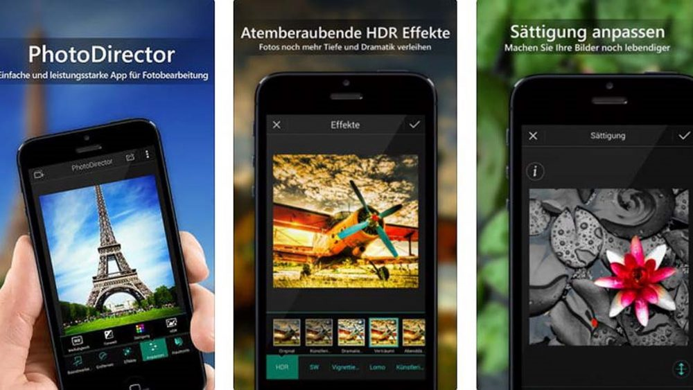 App PhotoDirector lässt dich Bokeh-Effekte in Smartphone-Bilder einbauen