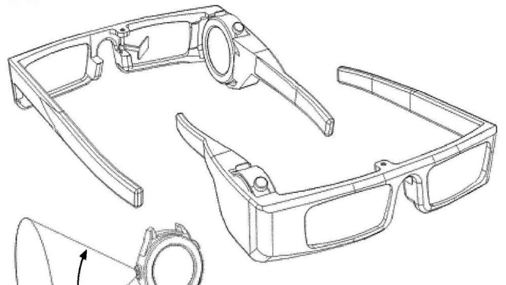 Das Patent aus dem Hause Huawei zeigt eine AR-Brille, in die eine Smartwatch integriert wird.