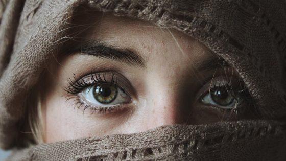Iris fotografieren: Tücher und Tarnungen