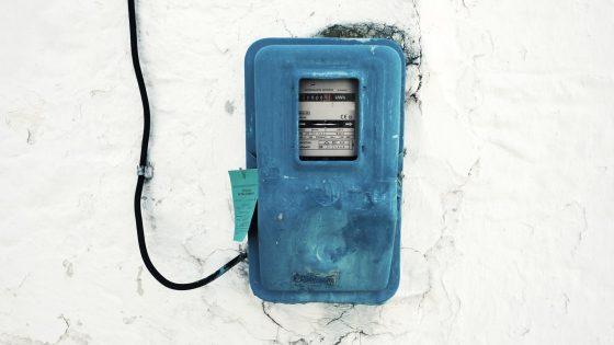 LAN über Steckdose: alter Stromzähler