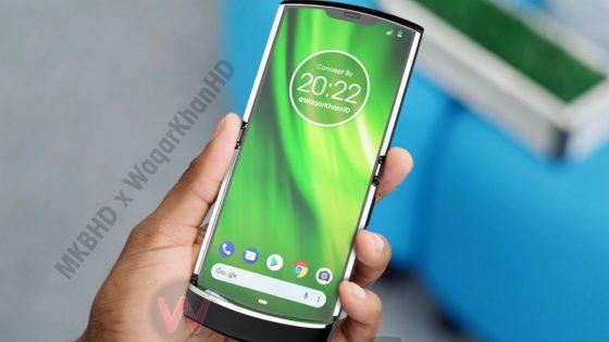Konzeptbild Motorola Razr 2019