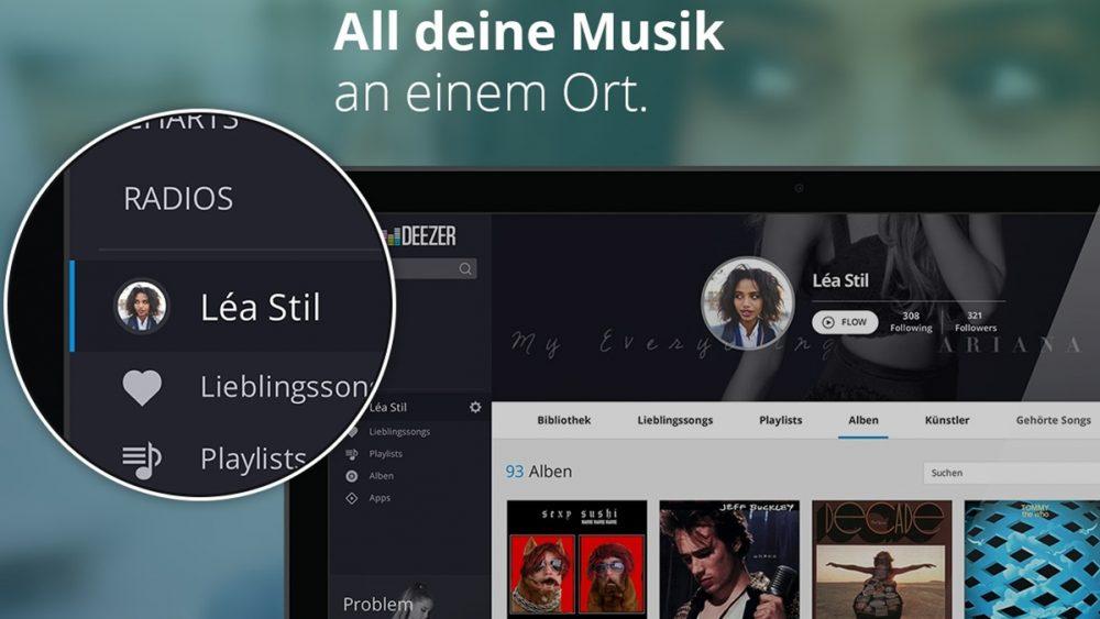 Musik-Streaming-Dienst Deezer