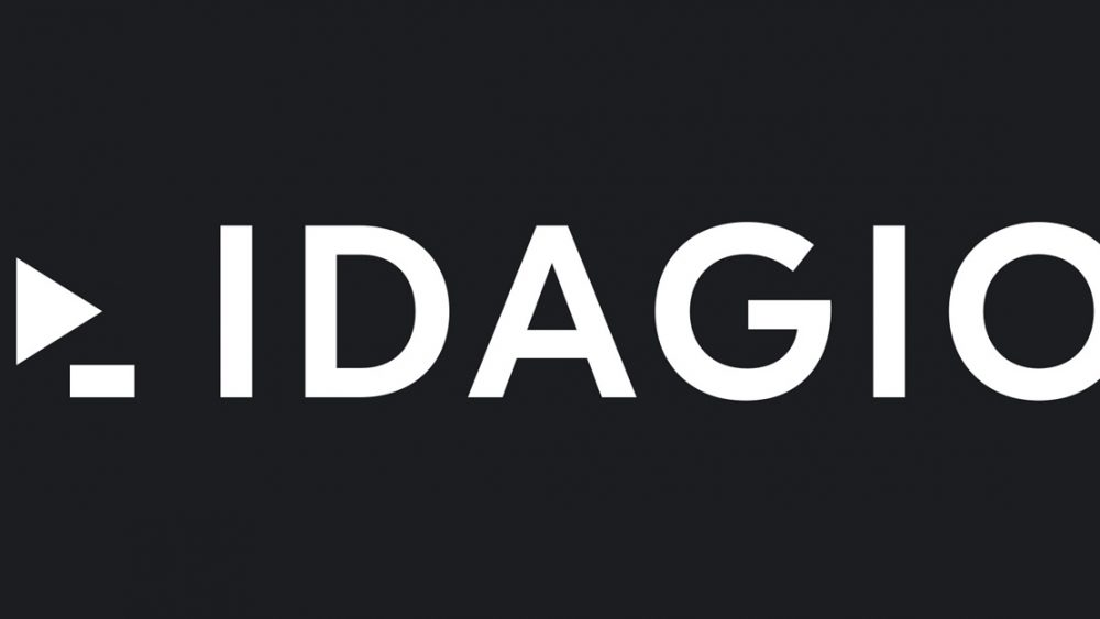 Logo des Musik-Streaming-Dienstes Idagio