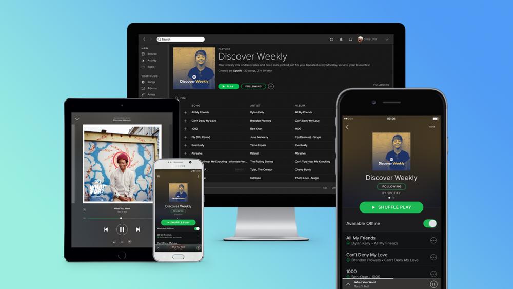 Musik-Streaming-Dienst Spotify