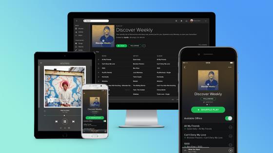 Musik-Streaming-Dienst Vergleich: Spotify