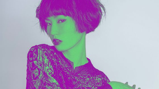 Photoshop Duotone-Effekt: Knallige Farben