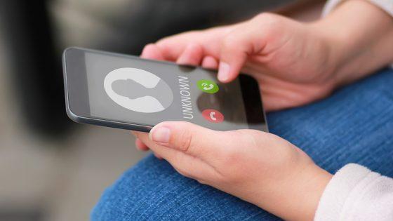 Unbekannter Anruf auf Smartphone wegen Rufnummernunterdrückung auf dem iPhone