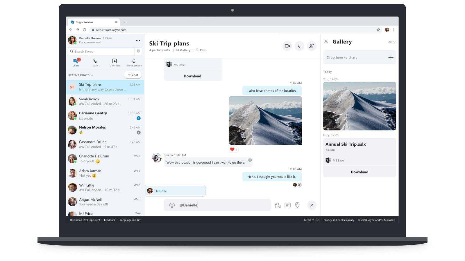 Microsoft rollt neue Web-Version von Skype aus | UPDATED