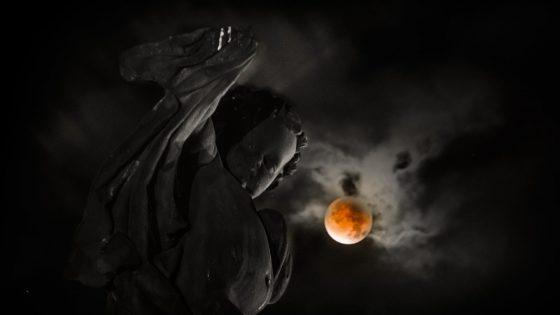 Blutmond fotografieren: Bewölkung