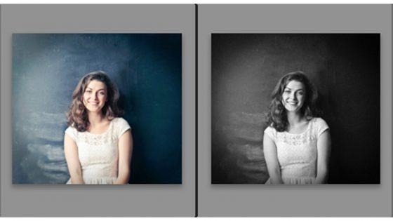 Lightroom Schwarz-Weiß: Vorher/Nachher
