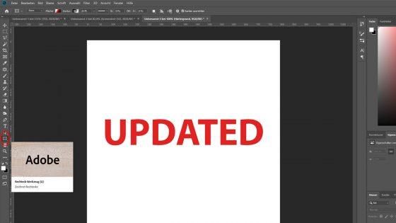 Logo erstellen mit Photoshop: Form einfügen