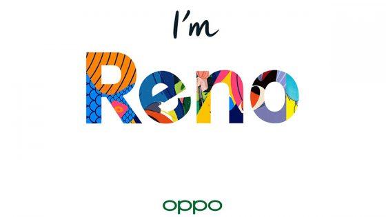 Buntes Logo für Oppos neue Smartphone-Linie Reno