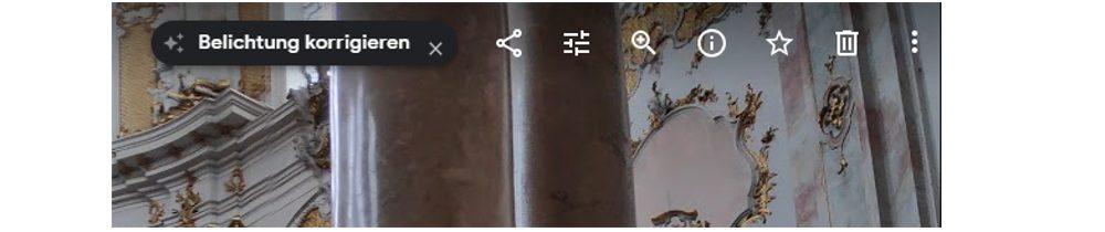 Google-Fotos-Fenster Bearbeiten