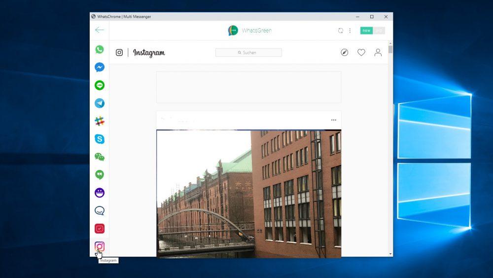 Screenshot WhatsGreen Multi Messenger