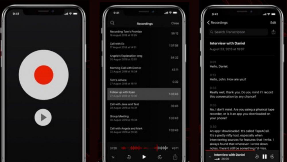 TapeACall Screenshots