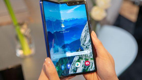 Samsung-Patent: Triple-Smartphone-Display im Fächer-Design