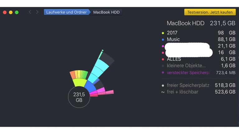 Cleaner Apps für Mac - DaisyDisk