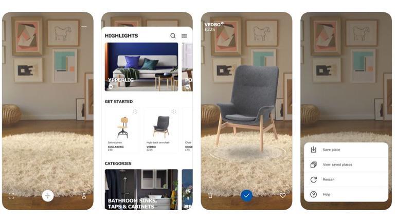 Ikea Place hilft beim Einrichten – mit Augmented Reality