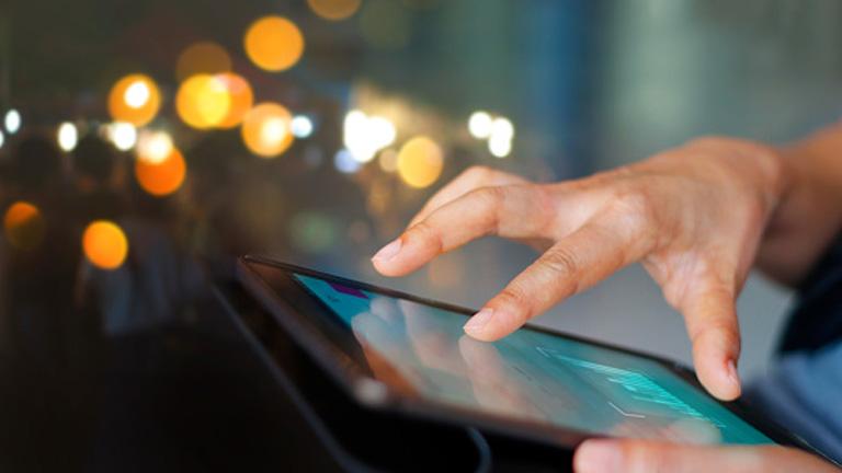 iPad Bildschirm teilen - Gesten