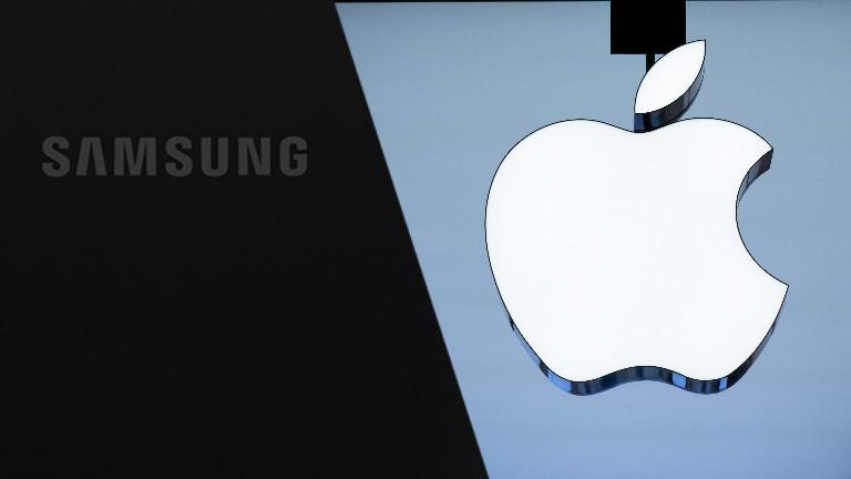 Logos Samsung und Apple
