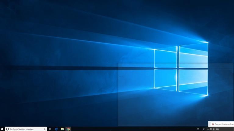 Bildschirm teilen bei Windows 10 mit Snap Assist Screenshot 3