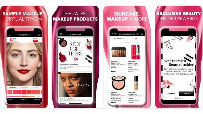 Auch Kosmetik lässt sich mit Augmented Reality kombinieren