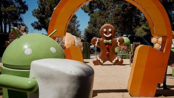 Android-Versionen als Spielplatz