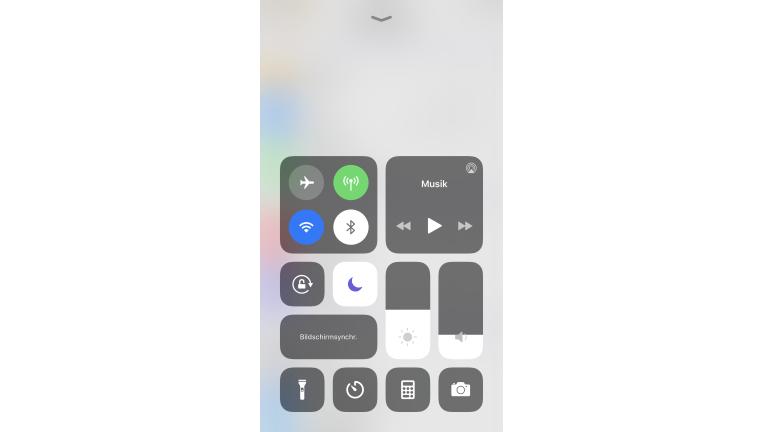 Nicht-stören-Modus bei iOS